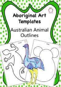 Australian Animal Outlines