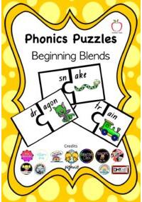Beginning Blends Puzzle