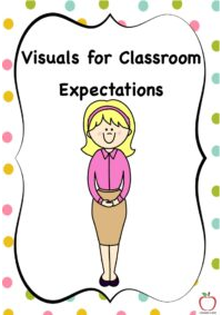 Visual Prompts for Classroom Expectations