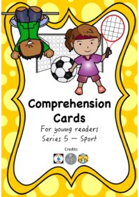 Comprehension Cards for Beginners - Series 5 (Sport)