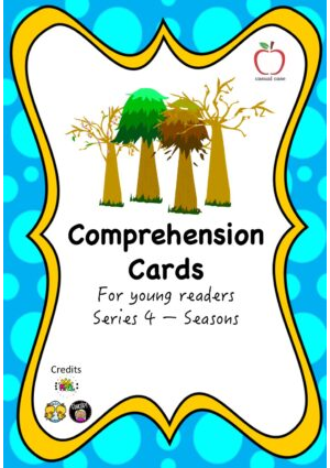 Comprehension Cards for Beginners - Series 4 (Seasons)