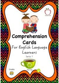Comprehension Cards for Beginners - Series 1