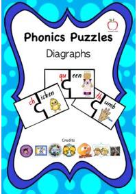 Diagraph Phonics Puzzle