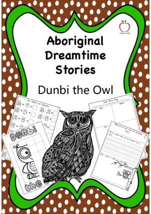 Aboriginal Dreamtime Stories - Dunbi the Owl