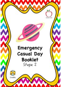 Emergency Casual Day Booklet - Stage 2