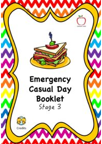 Emergency Casual Day Booklet - Stage 3