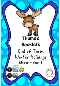 End of Term Winter Holiday Booklet Yr K-2