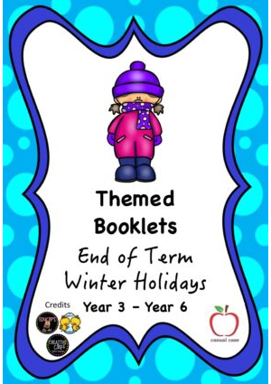 End of Term Winter Holiday Booklet Yr3 - Yr6