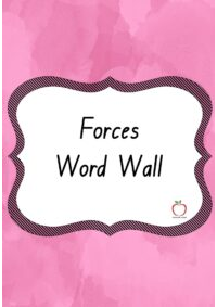 Forces Word Wall