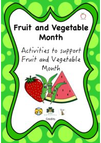 Fruit and Vegetable Month Booklet