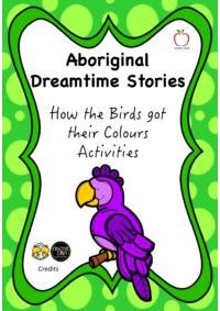 Aboriginal Dreamtime Stories - How the Birds got their Colours