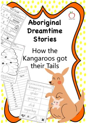 Aboriginal Dreamtime Stories - How the Kangaroos got their Tails