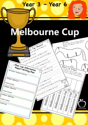 Melbourne Cup Booklet Yr 3- Yr6