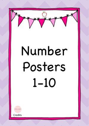 Number Display 1-10