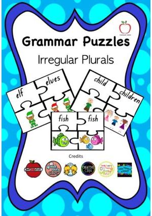 Irregular Plurals Puzzle