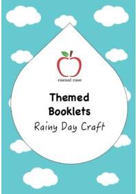 Rainy Day Craft Booklet