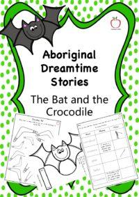 Aboriginal Dreamtime Stories - The Bat and the Crocodile