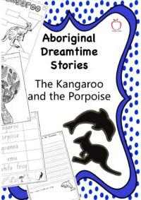 Aboriginal Dreamtime Stories - The Kangaroo and the Porpoise