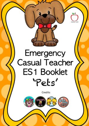 Emergency Casual Day Booklet - Early Stage 1 (Pets)